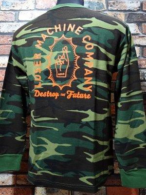 LOSER MACHINE ルーザーマシーン サーマルロングスリーブTシャツ(Boneyard)  カラー:カモ