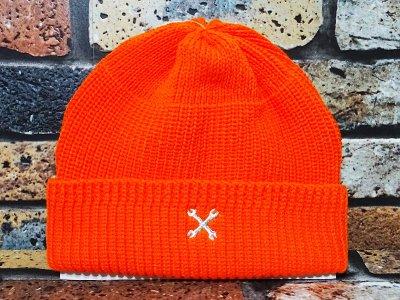 Bluco ブルコ  ニットキャップ (WATCH CAP)  カラー:オレンジ