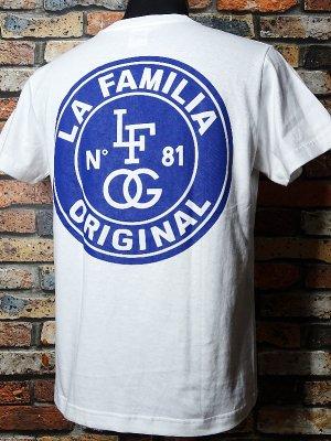 LA FAMILIA ORIGINAL ラ ファミリアオリジナル Tシャツ (DOYERS) カラー:ホワイト