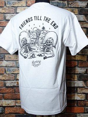 SKETCHY TANK スケッチータンク Tシャツ (till the end) カラー:ホワイト
