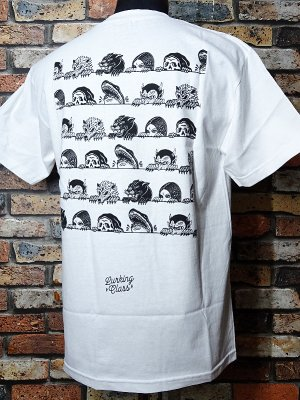 SKETCHY TANK スケッチータンク Tシャツ (lurkers) カラー:ホワイト