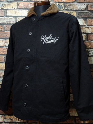 RealMinority リアルマイノリティー N-1ジャケット (Sorrows LOGO) カラー:ブラック