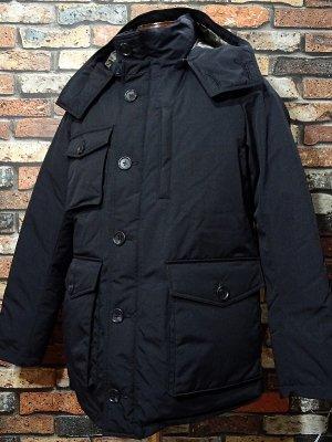 ZANTER JAPAN ザンタージャパン  日本製 800フィルパワー ダウンジャケット (WP-H) Zanter mountain 800fp down jacket  カラー:ブラック