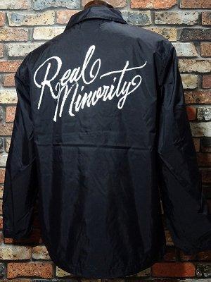 RealMinority リアルマイノリティー  コーチジャケット (Sorrows LOGO) カラー:ブラック