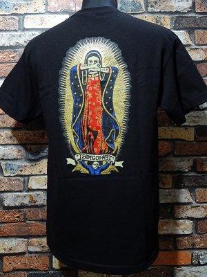 HardLuck ハードラック Tシャツ (lady guadalupe) カラー:ブラック