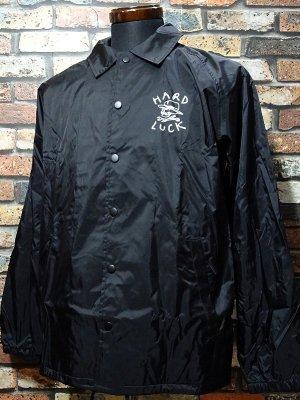 Hard Luck ハードラック コーチジャケット  (OG LOGO COACHES) coach jacket  カラー:ブラック