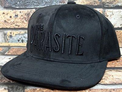 parasite パラサイト フェイクレザー スナップバックキャップ (THE PARASITE) カラー:ブラック