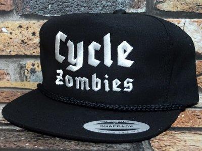 CYCLE ZOMBIES サイクルゾンビーズ  スナップバックキャップ (BLITZRIEG SNAPBACK) カラー:ブラック