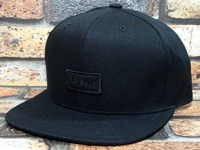 BRIXTON ブリクストン  スナップバック キャップ  (RIFT MP SNAPBACK) カラー:ブラック