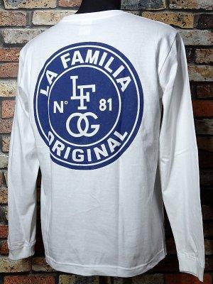 LA FAMILIA ORIGINAL ラ ファミリアオリジナル ロングスリーブTシャツ (DOPERS) カラー:ホワイト