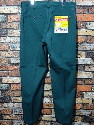 BIG MIKE ビックマイク ワークパンツ (BIG MIKE PIN TACK CHINO PANTS) チノパン カラー:ディープグリーン
