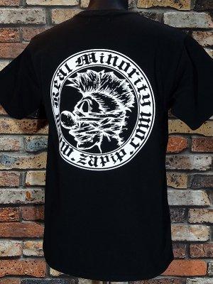 RealMinority リアルマイノリティー  Tシャツ (COMPANY) カラー:ブラック×ホワイト