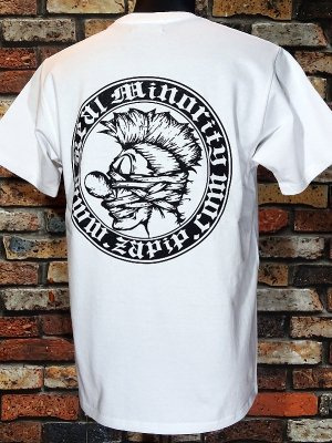 RealMinority リアルマイノリティー  Tシャツ (COMPANY) カラー:ホワイト