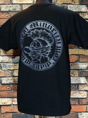 RealMinority リアルマイノリティー  Tシャツ (COMPANY) カラー:ブラック×ダークグレー