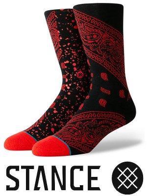 STANCE SOCKS スタンスソックス  (ROCKET) カラー:ブラック