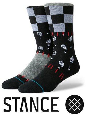 STANCE SOCKS スタンスソックス  (DISCONTENT) カラー:ブラック