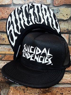 suicidal tendencies スイサイダルテンデンシーズ メッシュキャップ OG Flip Up New Brim カラー:ブラック
