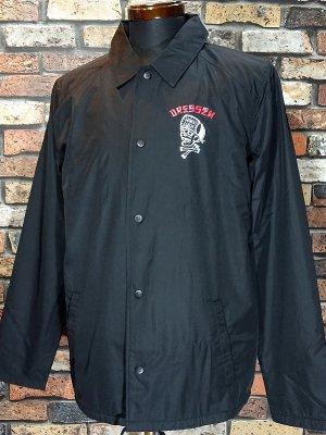 Hard Luck ハードラック コーチジャケット  (DRESSEN SKULL) coach jacket  カラー:ブラック