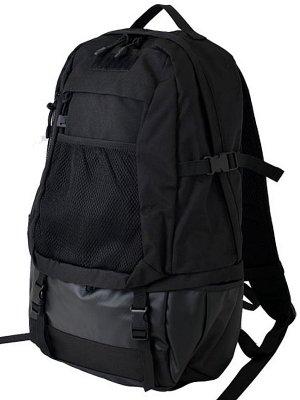 CORDURA コーデュラ ナイロン レイヤード バックパック (layered back pack) カラー:ブラック