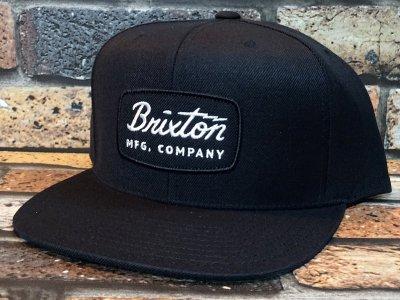 BRIXTON ブリクストン  スナップバック キャップ  (JOLT SNAPBACK CAP) カラー:ブラック