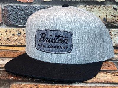 BRIXTON ブリクストン  スナップバック キャップ  (JOLT SNAPBACK CAP) カラー:グレー