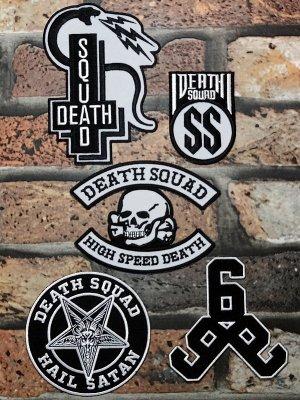 DEATH SQUAD デススクアッド ワッペン セット 2