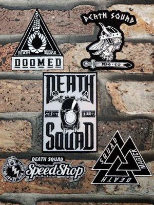 DEATH SQUAD デススクアッド ワッペン セット 3