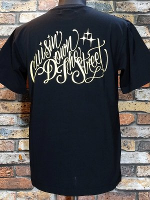 kustomstyle カスタムスタイル Tシャツ (KST1902BK) cruisin down the street カラー:ブラック