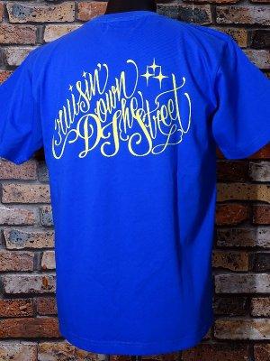 kustomstyle カスタムスタイル Tシャツ (KST1902RBL) cruisin down the street カラー:ロイヤルブルー