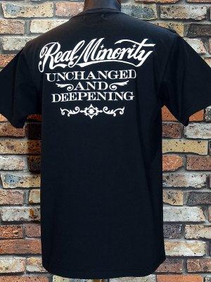 RealMinority リアルマイノリティー  Tシャツ (U&D) カラー:ブラック