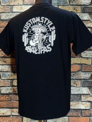 kustomstyle カスタムスタイル Tシャツ (KST1823BK) califas カラー:ブラック