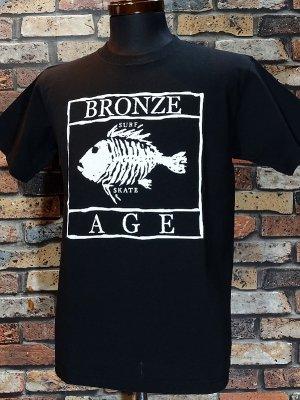 BRONZE AGE ブロンズエイジ Tシャツ (SKULL FISH) カラー:ブラック