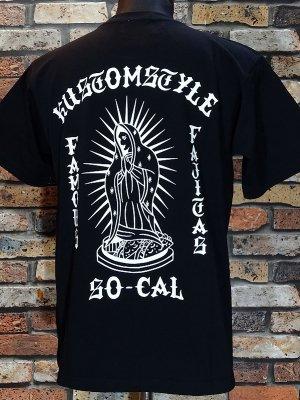 kustomstyle カスタムスタイル Tシャツ (KST1909BK) famous fajitas カラー:ブラック