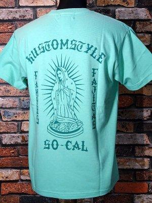kustomstyle カスタムスタイル Tシャツ (KST1909ICG) famous fajitas カラー:アイスグリーン