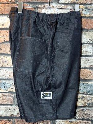 Bluco ブルコ  ストレッチイージーペインターショーツ (OL-005D-019) easy painter shorts カラー:ブラック