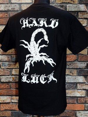 HardLuck ハードラック Tシャツ (ALACRAN) カラー:ブラック