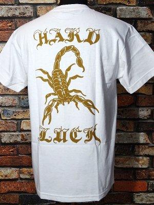 HardLuck ハードラック Tシャツ (ALACRAN) カラー:ホワイト