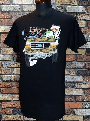 RIP N DIP リップンディップ Tシャツ (The Whole Gang Tee) カラー:ブラック