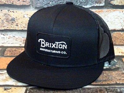 BRIXTON ブリクストン メッシュキャップ (GRADE MESH CAP) カラー:ブラック