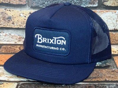 BRIXTON ブリクストン メッシュキャップ (GRADE MESH CAP) カラー:ネイビー