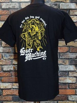 LOSER MACHINE ルーザーマシーン Tシャツ (8TH DAY STOCK) カラー:ブラック