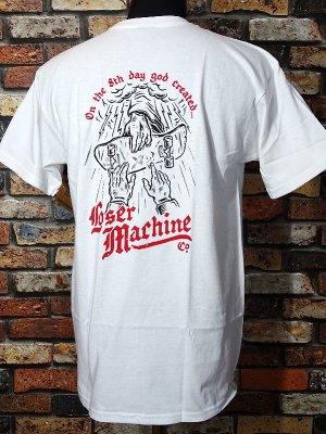 LOSER MACHINE ルーザーマシーン Tシャツ (8TH DAY STOCK) カラー:ホワイト