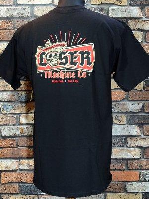 LOSER MACHINE ルーザーマシーン Tシャツ (MI FESTIVAL STOCK) カラー:ブラック