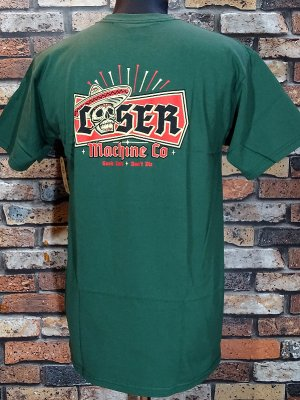 LOSER MACHINE ルーザーマシーン Tシャツ (MI FESTIVAL STOCK) カラー:グリーン