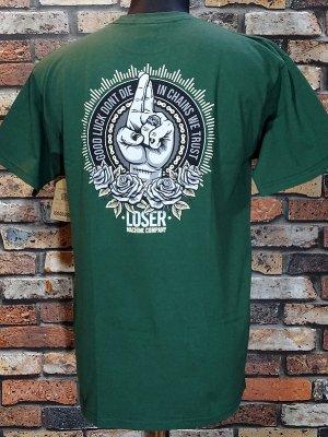 LOSER MACHINE ルーザーマシーン Tシャツ (MANTRA STOCK) カラー:グリーン