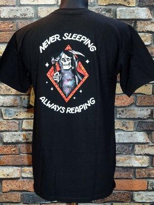 LOSER MACHINE ルーザーマシーン Tシャツ (NEVER SLEEPING STOCK) カラー:ブラック