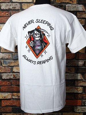 LOSER MACHINE ルーザーマシーン Tシャツ (NEVER SLEEPING STOCK) カラー:ホワイト