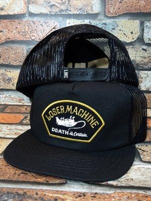 LOSER MACHINE ルーザーマシーン メッシュキャップ (MARSHALL) カラー:ブラック