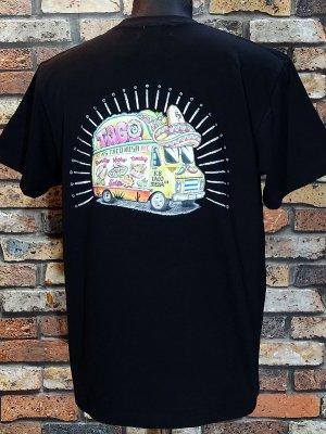 kustomstyle カスタムスタイル Tシャツ (KST1906COLBK) taco mesa food truck カラー:ブラック