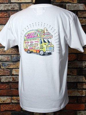 kustomstyle カスタムスタイル Tシャツ (KST1906COLWH) taco mesa food truck カラー:ホワイト